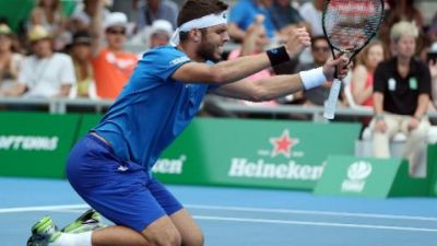Czech qualifier Vesely wins ATP Auckland final