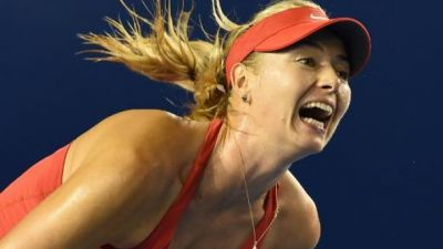 Sharapova powers into Australian Open second round