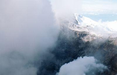 Eurasia's tallest volcano wakes up