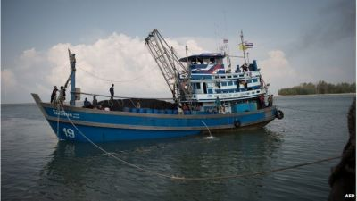 Thailand scraps plan to put prisoners on fishing boats