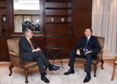 President Ilham Aliyev met the chairman of the Munich Security Conference