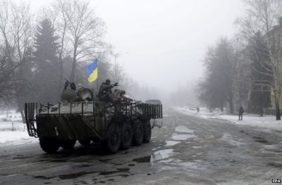 Ukraine accuses Russian troops