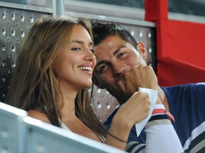 Ronaldo wishes Irina Shayk the greatest happiness