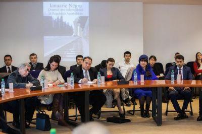 A conference about January victims of January 20 tragedy  held in Bucharest PHOTO