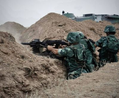 The enemy's provocative attempt on the frontline prevented