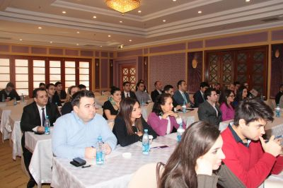 Caspian European Club begins to conduct monthly business trainings
