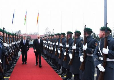 President Ilham Aliyev`s visit to Germany ended