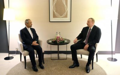 President Ilham Aliyev met the head of the Iranian President`s Administration