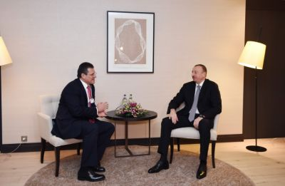 President Ilham Aliyev met the European Commission Vice-President for Energy Union