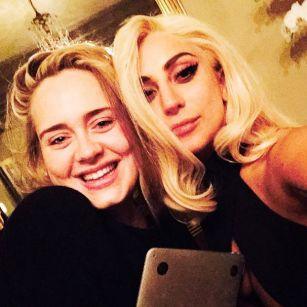 Lady Gaga teases collaboration with Adele on Instagram