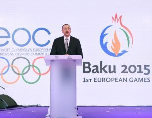 "Presentation of the ""Baku 2015"" First European Games takas place in Davos"