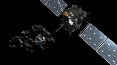 Rosetta reveals new details about comet