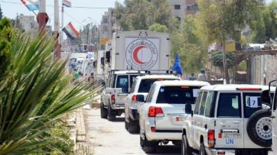 New UN program sends 54 convoys to Syria