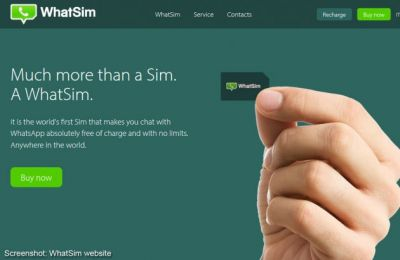 WhatSim lets you chat with WhatsApp worldwide on the cheap