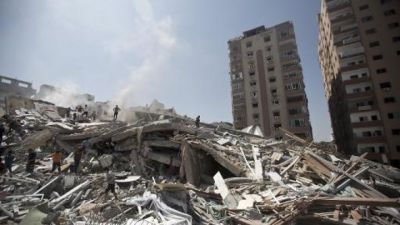 UN halts Gaza house repairs saying donors failed to pay up