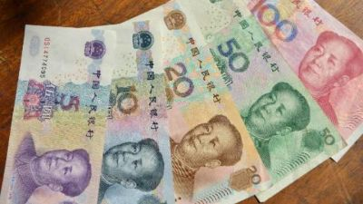 China's yuan now world's 5th payments currency