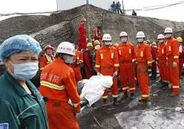 Coal mine flooding in China, 7 dies
