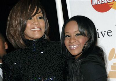 Whitney Houston's daughter found unresponsive in bathtub