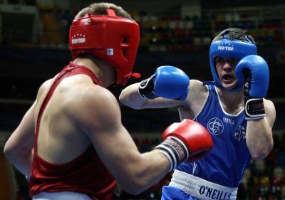 Ireland's Darren O'Neill takes step towards Baku 2015 with first heavyweight title