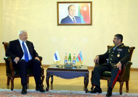 Azerbaijani Defense Minister discusses the situation on the contact line with Andrzej Kasprzyk