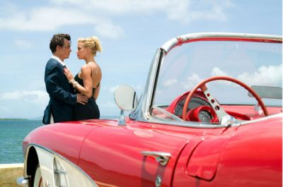 Johny Depp and Amber Heard celebrate their wedding in the Bahamas island