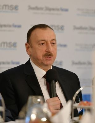 President Ilham Aliyev: Azerbaijan is the only new gas source which European consumers will get in the nearest future