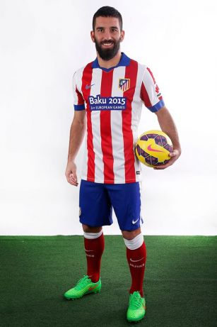 Atletico Madrid kit to feature Baku 2015 European Games logo