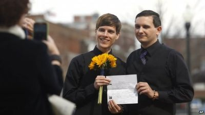 Gay marriage rollout in chaos