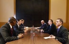 President Ilham Aliyev receives Special Envoy of the US Department