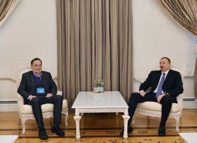 President Ilham Aliyev received the Greek Minister
