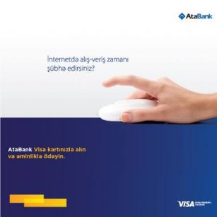 It's possible to shop securely for customers of AtaBank