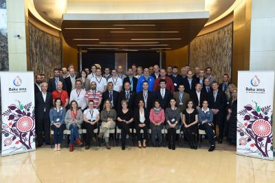 Baku 2015 European Games hosts final NOC Open Day session