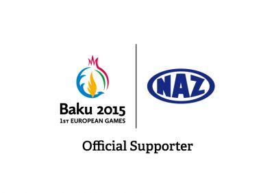 Baku 2015 European Games signs NAZ as Official Supporter