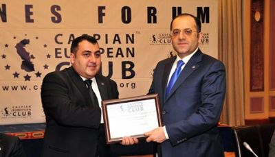 Baku hosts a business forum of State Social Protection Fund and Caspian European Club