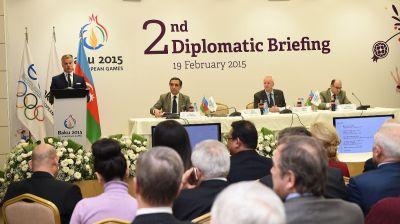Baku 2015 European Games hosts second diplomatic briefing