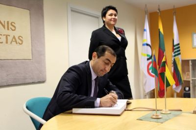 Press conference on Baku 2015 First European Games to be held in Lithuania