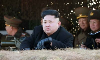 North Korean Leader  defies gravity with new haircut