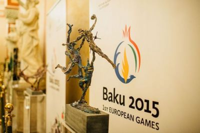 Presentation of the Baku-2015 First European Games held in Hungary PHOTO
