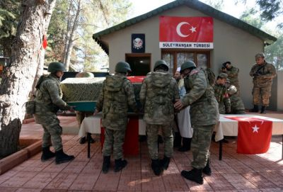 Turkey honors Suleyman Shah's remains at ceremony