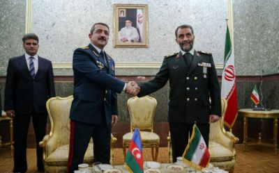 Colonel-General Elchin Guliyev met with his Iranian counterpart