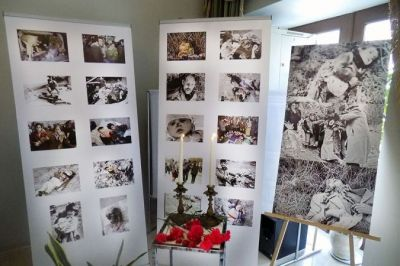 An exhibition on  Khojaly genocide opened in Tbilisi PHOTO