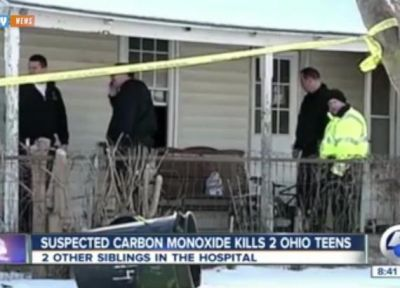 3 children die from carbon monoxide leak