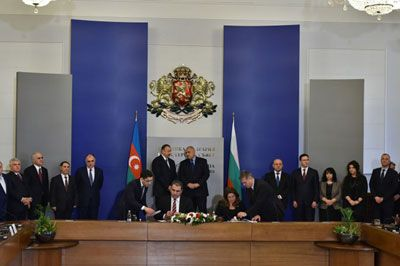 Azerbaijan, Bulgaria sign agreement
