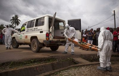Ebola virus death toll  reaches 9,840