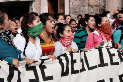 Feminist activists detained