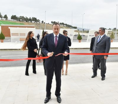 President attended the opening of the Baku Shooting Center PHOTO