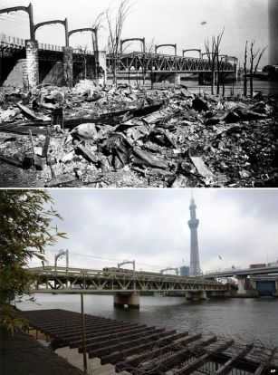 Japan marks anniversary of firebombing