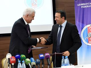 Baku 2015 signs agreement for Wrestling test event