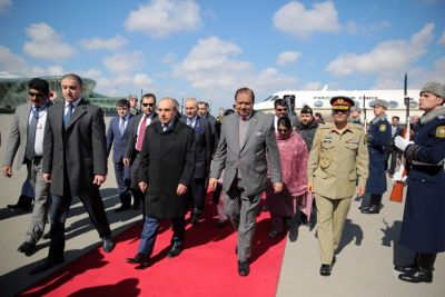 Pakistani President arrived in Baku