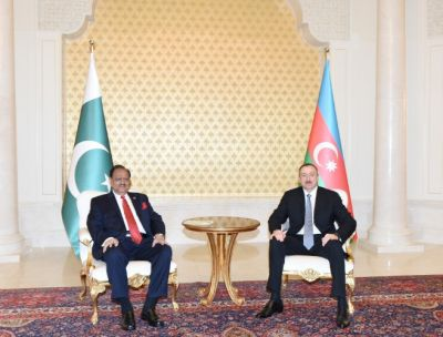 President Ilham Aliyev received his Pakistani counterpart
